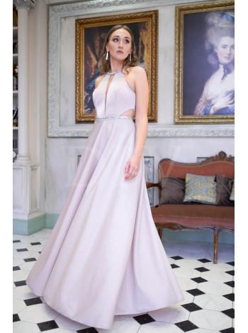 Вечернее мерцающее платье А-силуэта