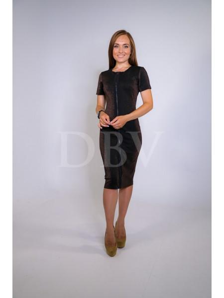 Обтягивающее платье с шиммером