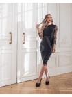 Бандажное платье с изысканным кружевом