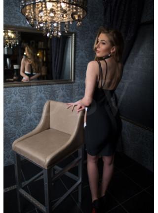 Эффектное бандажное платье